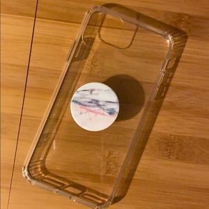 iPhone 11 Pro Max Case + PopSocket